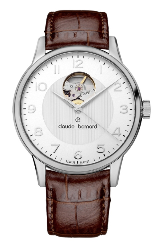 Claude Bernard Classic Automatic Open Heart 85017 3 ABN